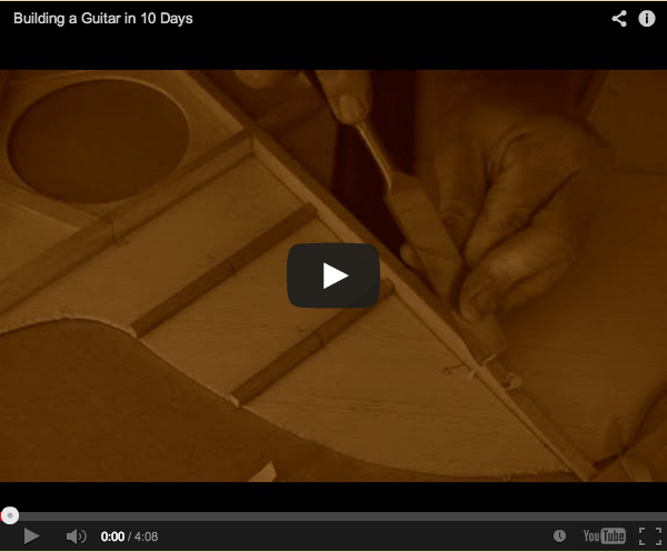 How To Build a Guitar In 10 Days